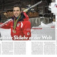 Der schnellste Skilehrer der Welt